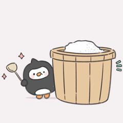 一只小企鹅