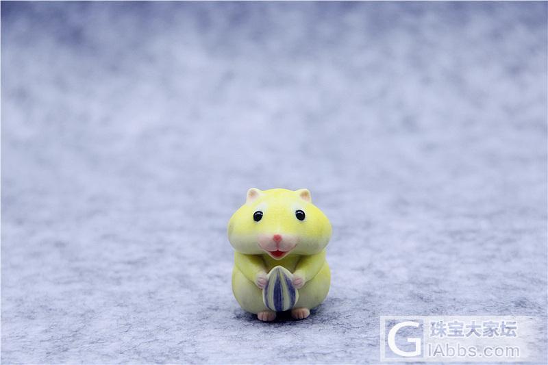 萌物 雕刻作品 瓜子仓鼠