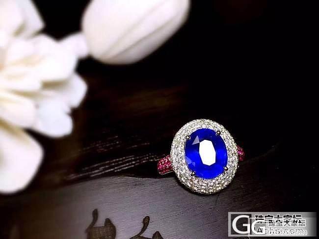 【RBG 定制欣赏】寒清红碧远相含,水波潋滟俏幽蓝_上海皇家蓝彩宝