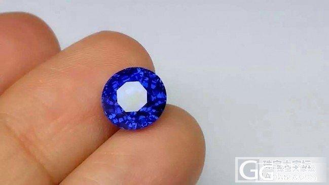 4.3克拉古柏林的缅甸皇家蓝,皇家蓝的色标,分享!_刻面宝石蓝宝石
