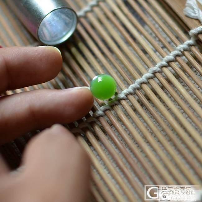 【伊洛瓦】俄料碧玉阳绿戒面~随形耳坠~糖玉连年有余~~_传统玉石