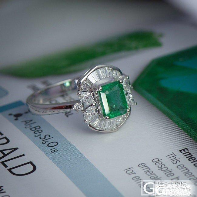 大家觉得这个祖母绿戒指怎么样?_祖母绿戒指刻面宝石