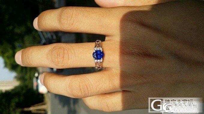 重新镶嵌的款式_蓝宝石
