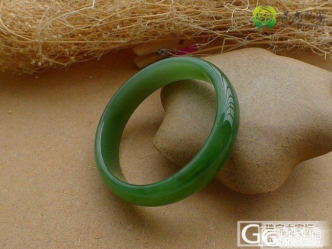 【品尚】啊北5.4新货:精品碧玉嫩阳绿手镯4#(内径52.1mm),随时拍。(已拍)_品尚翡翠