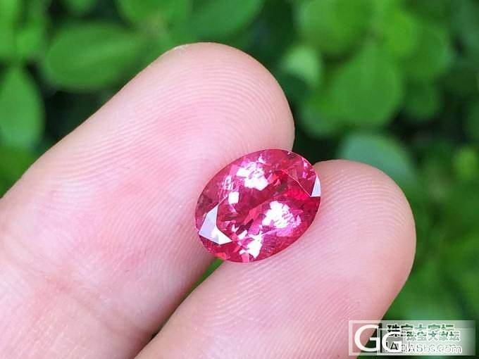 【尖晶石】1.93ct无烧马亨盖粉尖晶,超级闪亮,台面大_上海皇家蓝彩宝