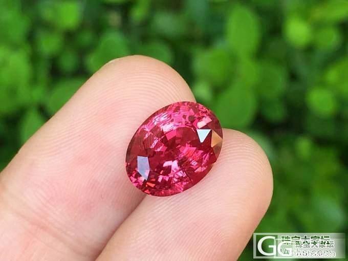 【尖晶石】3.01ct超级浓郁的马亨盖尖晶,vivid pink ,这个颜色简直太美了,EGL证书_上海皇家蓝彩宝