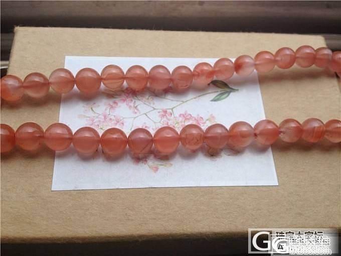 白菜价转几件水晶链子:南红塔链,粉晶蜜糖罐手链,石榴石手链_宝石