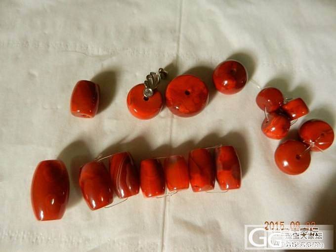 南红桶珠及其他_传统玉石