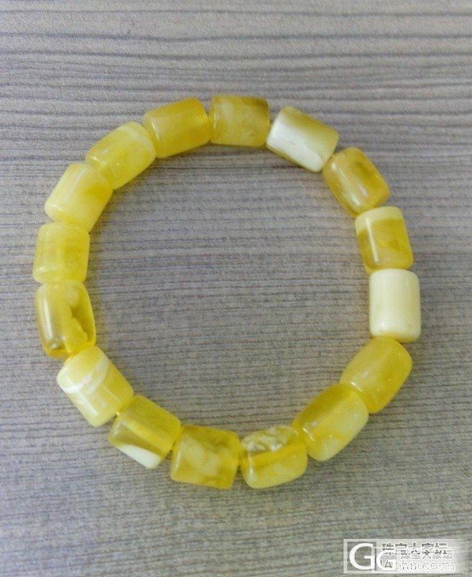 金角蜜桶珠,美美的_珠串蜜蜡