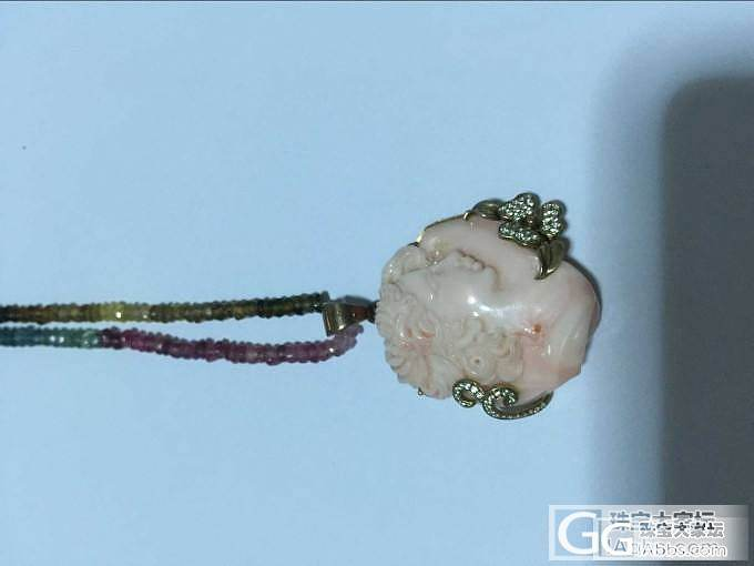 先开小件的仓: 珊瑚枝子、耳钉、美人..._珠宝
