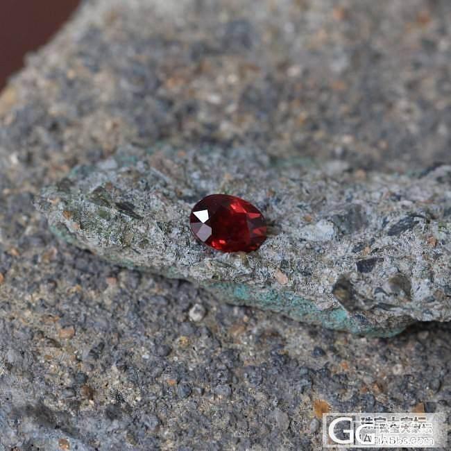 1.05ct莫桑比克红宝石,GRS,..._莫桑石