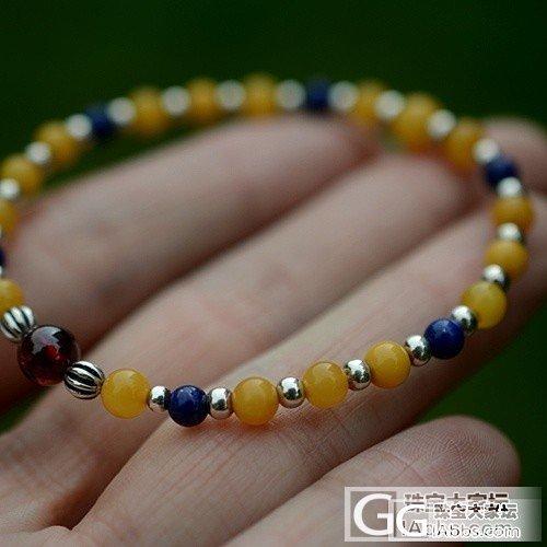 纯天然蜜蜡手链,秀美,清爽,168元一条,全国包邮_有机宝石