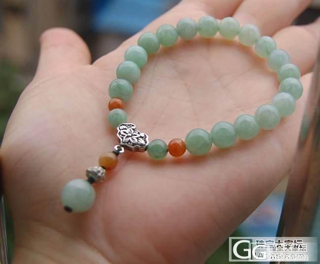 更新了!精品翡翠阳绿耳钉、貔貅、叶子、平安扣、翡翠手链低价团!_珠宝