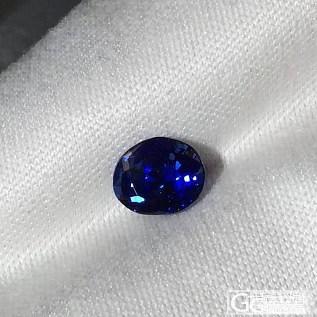 小克拉无烧皇家蓝1.42CT_刻面宝石蓝宝石