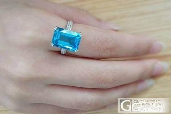 托帕石戒指,还图_戒指