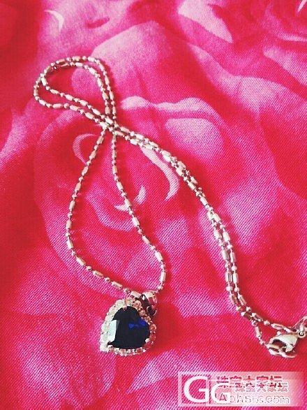 今天买滴蓝宝项链_蓝宝石项链银