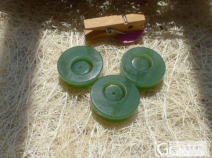 【品尚】啊北8.4新货:碧玉环扣两用吊坠,随时拍。_品尚翡翠