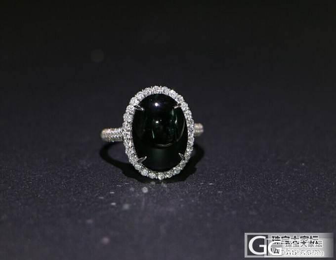 【瑞意邦珠宝】——墨翠镶嵌戒指后欣赏_瑞意邦珠宝