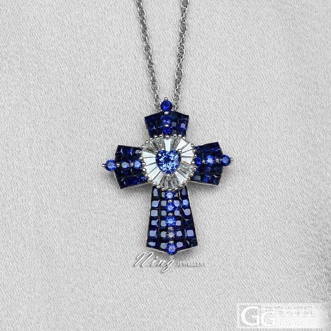 Ning Jewellery 心形蓝..._珠宝镶嵌