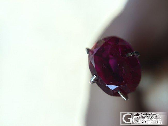 缅甸纯净无暇鸽子血_红宝石
