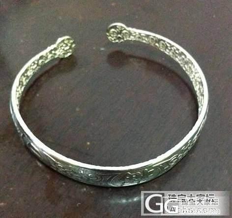 (更新)出些闲置,买得太多了,银镯、..._珠宝
