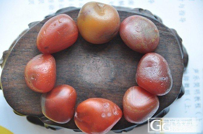 南红籽料原石手串,超霸气大籽,好不容易配出来的!_南红原石