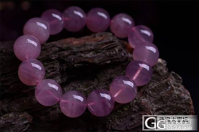 粉晶虽然很常见但是这么粉的粉晶你见过吗,很久之前收藏的,_粉晶
