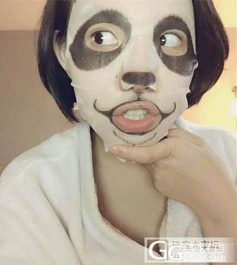 现货:SNP熊猫动物面膜,萌萌哒,刚到_海淘品质生活