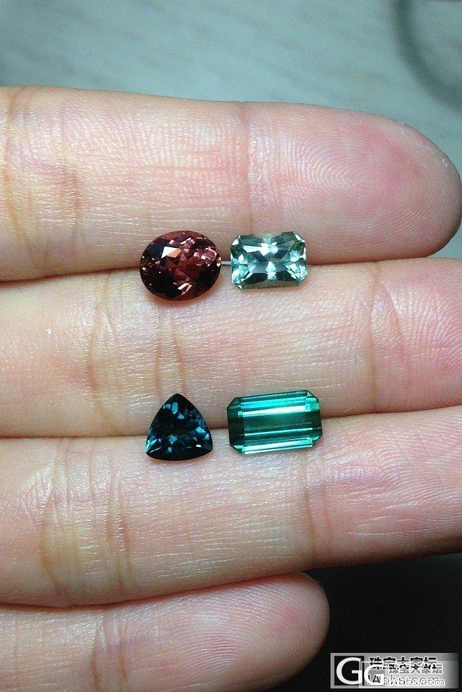 各种裸石,碧玺尖晶蓝宝托帕欧泊金绿镁..._宝石