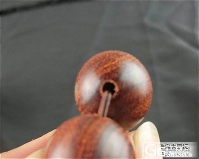 印度小叶紫檀20/8/18mm精美银..._珠宝