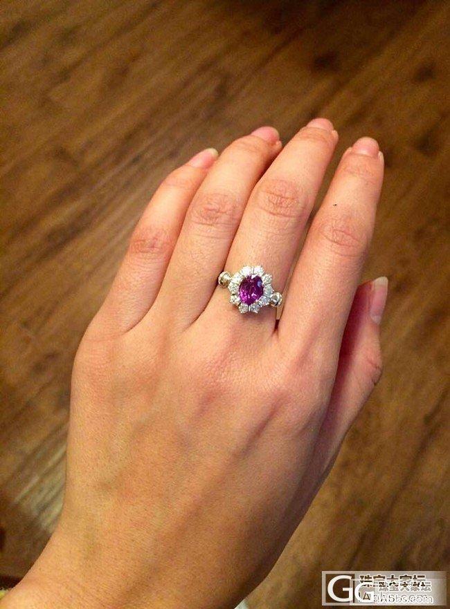 紫色蓝宝石戒指_蓝宝石