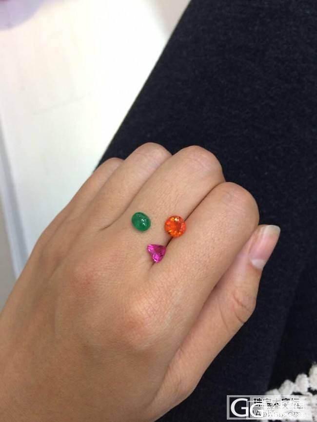 颜色就是王道_宝石刻面宝石