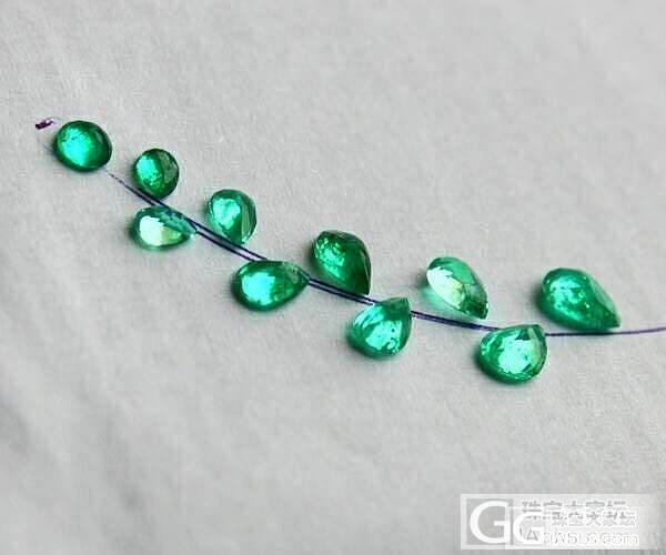 【彩石记】祖母绿水滴羽毛胸针吊坠锁骨..._珠宝
