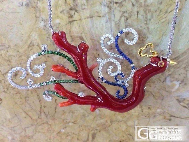 阿卡红珊瑚锁骨链_珊瑚