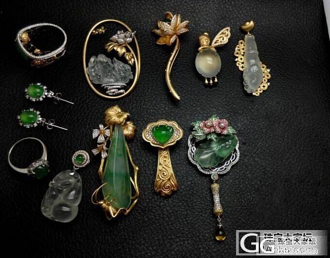 【先恩尼】发几个工厂出的活儿吧  精工_珠宝镶嵌
