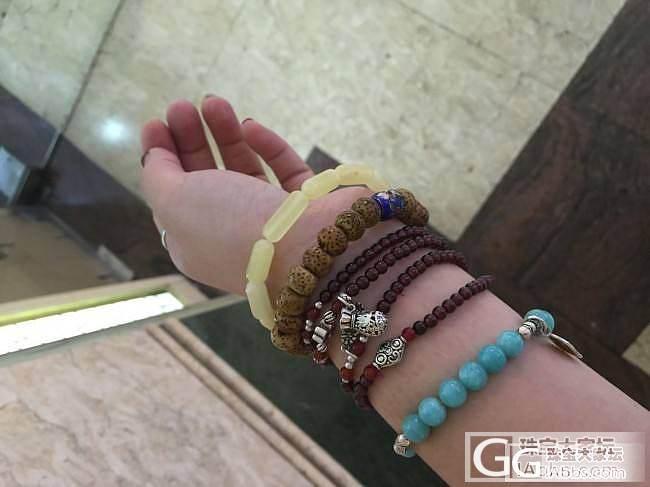 6-8新蜜桶珠手串_有机宝石