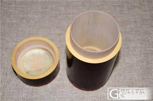 5月5日印度小叶紫檀老料茶叶罐 茶叶..._文玩