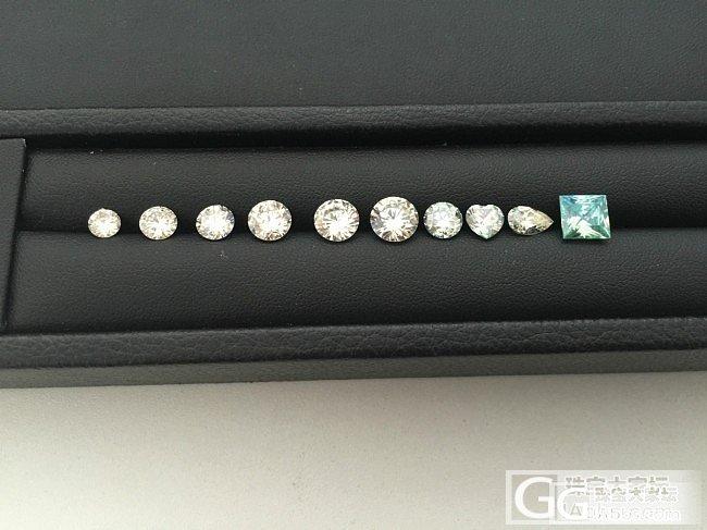 莫桑石,微信:ladymiao_莫桑石珠宝