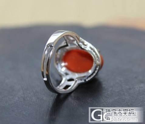 【小穆玉店铺】南红戒指2个_玛瑙