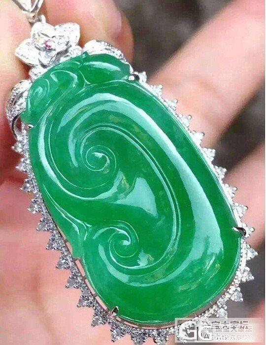 冰蛋戒指和绿如意哪个值得收?_翡翠