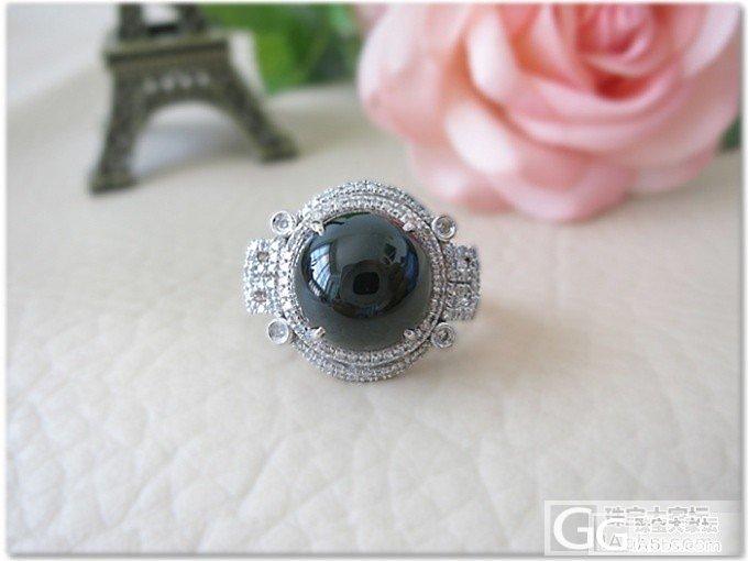 新镶嵌的戒指,华丽丽的美_戒指镶嵌