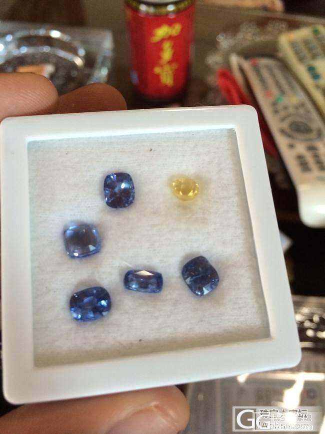 斯里兰卡矿山一手货源蓝宝石,有需要的..._珠宝
