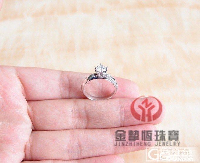 18K钻戒指镶嵌加工定制_金挚恒珠宝镶嵌