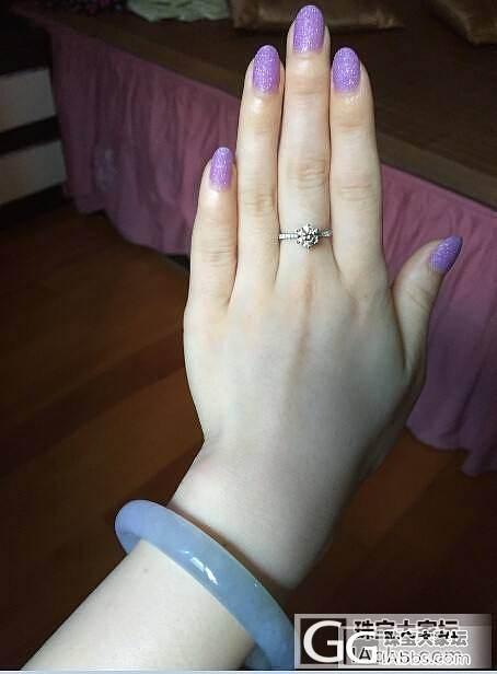 卡钻越看越小了_戒指钻石
