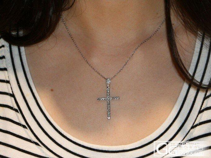 【瑞意邦珠宝】——满钻十字架吊坠百搭款_瑞意邦珠宝