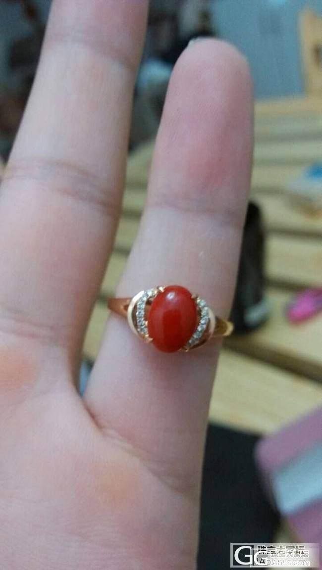 大家看看这个珊瑚成色怎么样,属于那一..._有机宝石
