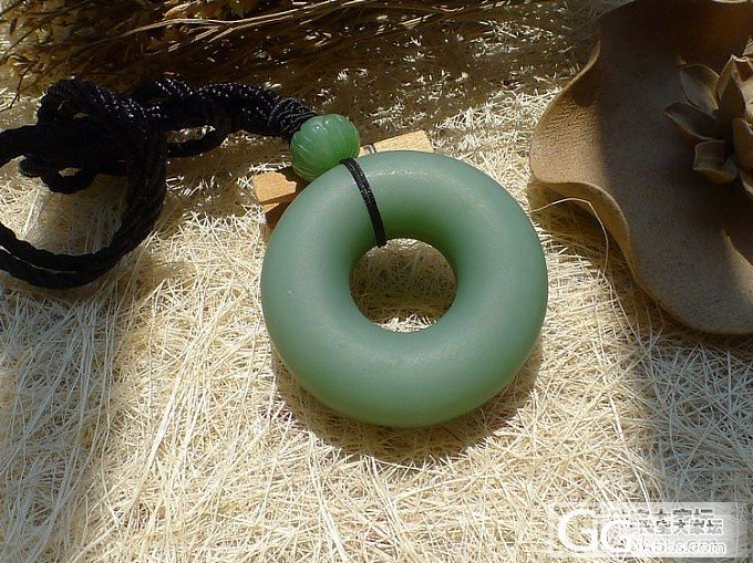 【品尚】啊北8.5新款:磨砂碧玉甜甜圈,超萌(已拍)_品尚翡翠
