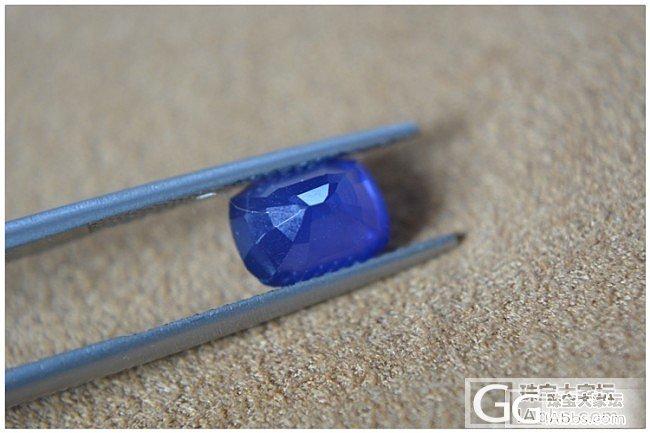 各位大神,小白咨询下这两颗加热蓝宝值..._蓝宝石