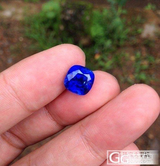 要命的皇家蓝---斯里兰卡前线直播_刻面宝石蓝宝石
