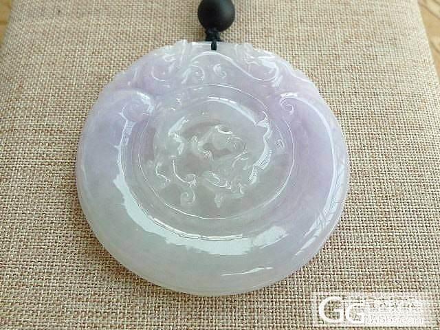 紫罗兰精雕花瓶吊坠挂件_珠宝